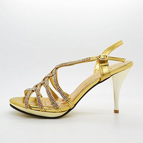 Footwear a bride doré London femme Or pq6w6CH
