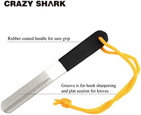 CrazyShark Hook Remover Aluminum Fish Hook Remover Extractor 9.6in red
