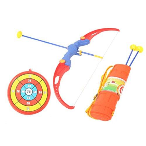 おもちゃの弓&矢印サクションカップ矢印&ターゲットアーチェリーの震え