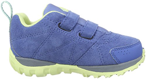 Columbia Childrens Venture, Zapatillas de Deporte Exterior para Niños Azul (Medieval/ Sea Ice)