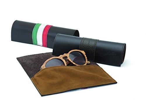 sol Fuster's Collection Mallorca gratuita madera Balearic Gafas NFC Eyewear y tecnología de APP de Negro con wxUg4xqC