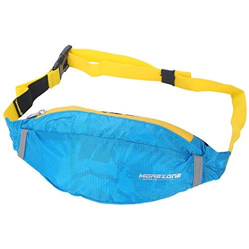 Sportlich Laufen Hüfttasche, MOREZONE Hüfttasche Gürtel Waist Pack Belt groß Waistpacks Tasche Für Handys Für Lauf Draussen Übung Radfahren