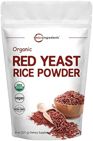 Micro Ingredients Organic Red Yeast Rice Powder