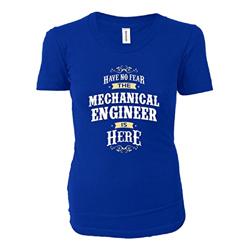 Have No Fear The Mechanical Engineer Is Here Funny Gift - Ladies T-shirt