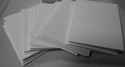 Blank A2 Watercolor Note Cards for Cardmaking, 50 pcs, 140lb/300gsm by Cilla Art Creations
