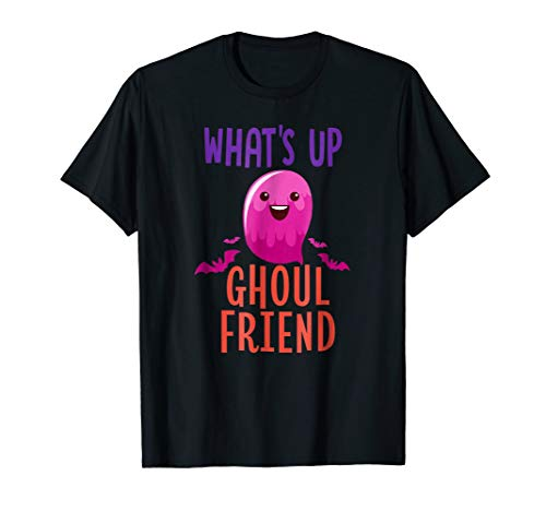 Halloween Funny Pun Shirt Girls Women WHAT'S UP