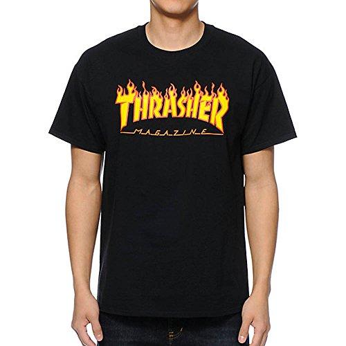 Thrasher Flame black T-Shirt