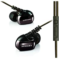 Creative Aurvana In-Ear3 Plus High-end Noise-isolating In-ear Earphones with In-line Remote and Microphone