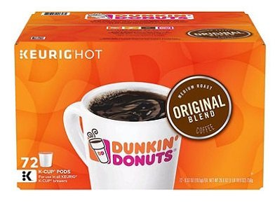 Dunkin' Donuts Original Blend (72 K-Cups) by Dunkin' Donuts