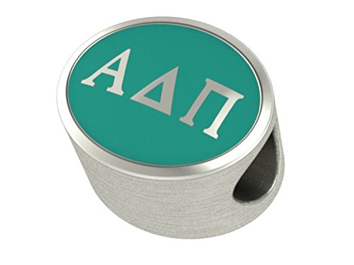 a Delta Pi Sorority Charms Fits Most European Style Charm Bracelets ()