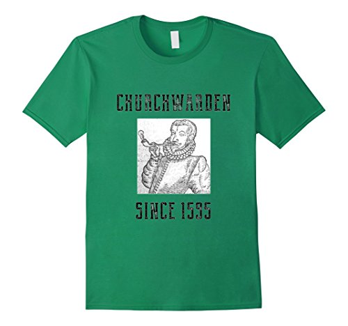 Latakia Blend (Mens Churchwarden Pipes Tshirt For Pipe Smokers 2XL Kelly Green)