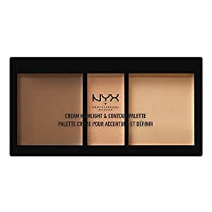 Amazon.com: NYX – Cream HIGHLIGHT & contorno Paleta, Talla ...