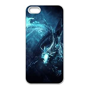 Dota2 WINTER WYVERN iPhone 4 4s Cell Phone Case White Phone Accessories LK_747348