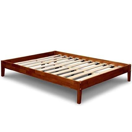 Amazoncom Best Price Mattress Solid Hardwood Platform Bed Full