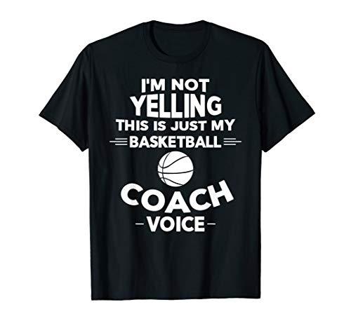 Funny Basketball Coach T-Shirt