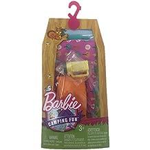 Barbie Camping Fun Accessories Sleeping Bag Flashlight & Pillow
