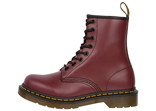 Dr. Marten's Women's 1460 8-Eye Patent Leather Boots, Cherry Red Rouge Smooth, 5 F(M) UK / 7 B(M) US Women / 6 D(M) US Men