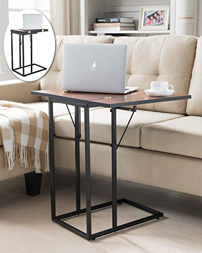 Indoor Multi-function Accent table Study Computer Desk Bedroom Living Room Modern Style End Table Sofa Side Table Coffee Table Magazine Snack Sofa Table by DASII