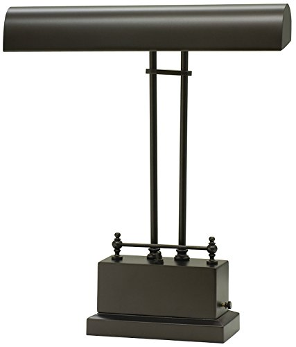 Mahogany Bronze Piano Lamp - 5