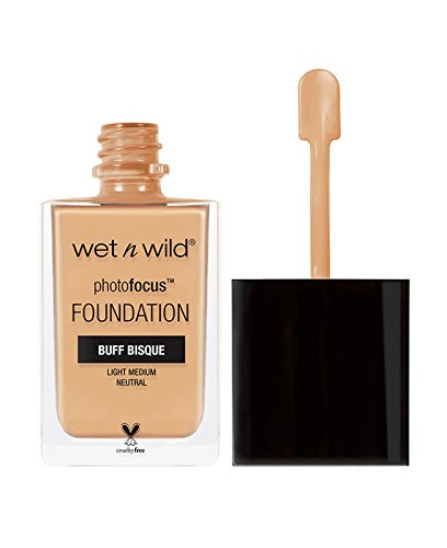 wet n wild Photo Focus Foundation, Buff Bisque, 1 Ounce