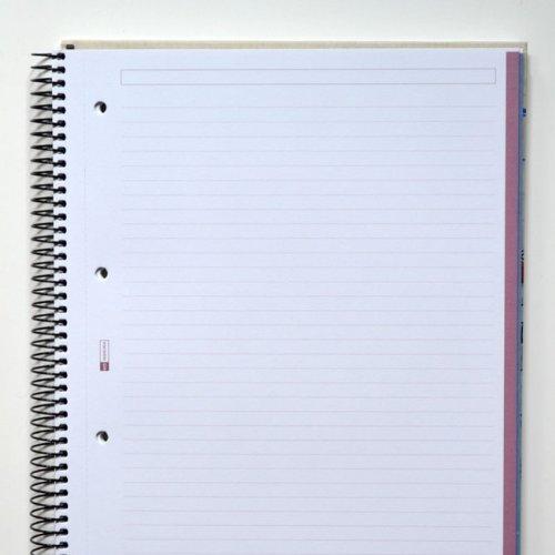 miquelrius notebook  : Miquelrius 6 x 8 Graphite Notebook, 4-Subject, College ...