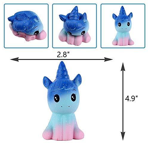 Squishy Einhorn,Squishy Spielzeug Anti Stress Spielzeug Squeeze Toy
