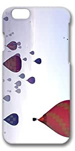 iPhone 6 Case, Personalized Design Protective Covers for iPhone 6(4.7 inch) PC 3D Case - London Balloon