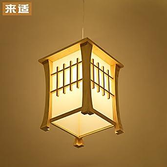 BCC minimalista comedor lámpara de araña ideas dormitorio restaurante luz luces LED de madera, la 3 W LED: Amazon.es: Iluminación