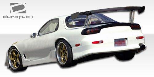 Speed Skirts Side (1993-1997 Mazda RX-7 Duraflex V-Speed Side Skirts Rocker Panels - 2 Piece)