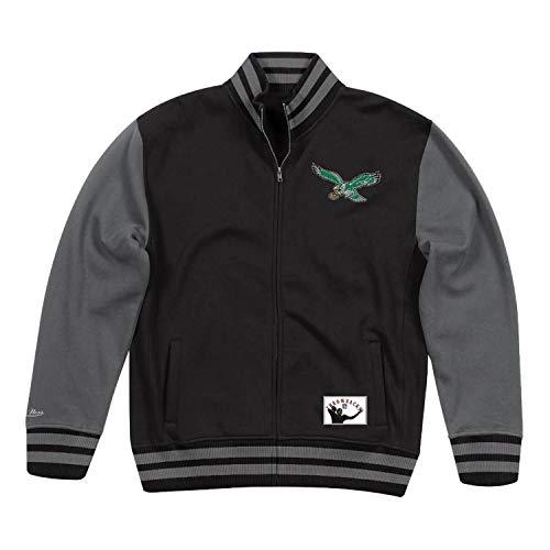 - Mitchell & Ness Philadelphia Eagles NFL Men's Varsity Full Zip Fleece Jacket