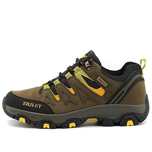 BOTEMAN Chaussures de Randonnée pour Femme et Homme Bottes de Trekking en Plein Air Imperméable Respirant Antidérapant… 1