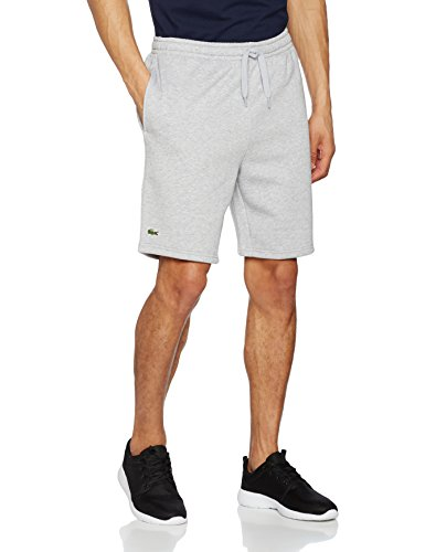 Lacoste Gh2136 Gris Straight Leg argent Chine Short Homme 6F6r8x