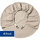 AmazonBasics Wheel Covers - 27.5' - 31', 4-Pack