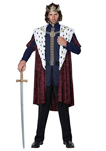 California Costumes Men's Royal Storybook King Adult Man Costume, Multi, Small/Medium