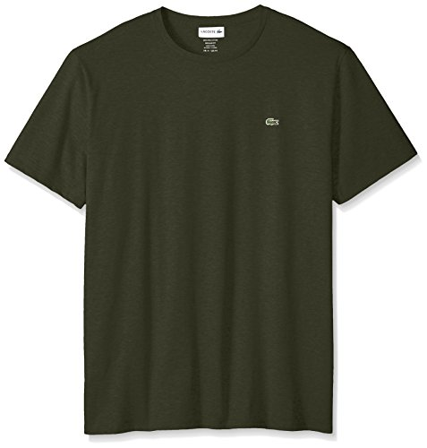 (Lacoste Men's Short Sleeve Crew Neck Pima Cotton Jersey T-Shirt, Sherwood, XX-Large)