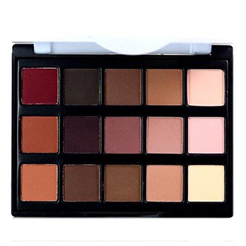 Inkach Eyeshadow Palette - 15 Colors Eye-shadow Powder Matte