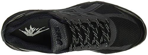 Asics Gel-Fujitrabuco 5 Gtx, Zapatillas de Trail Running para Hombre Varios colores (Black / Dark Steel / Silver)