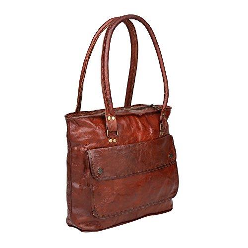 Desert Town, Borsa tote donna marrone Vintage Brown Medium
