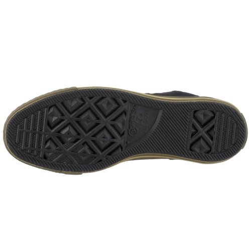 Converse Chuck Taylor Zipper Hi, Baskets mode mixte adulte - Noir/Kaki - 40 EU