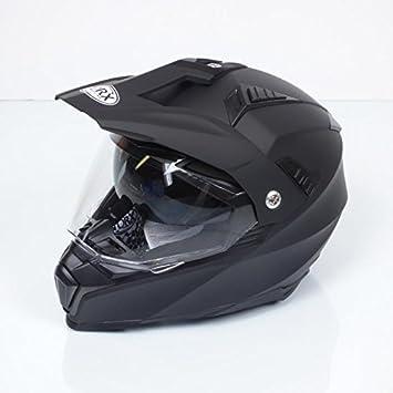 TORX casco Moto Dundee Black mate