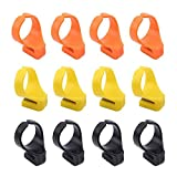 ICYANG 12 Pieces Finger Knife Ring, Plastic