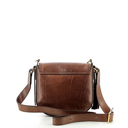 Pelle Pearldistrict Brown Mano brown Bridge Borsa Cm 23 The De Braun OqwxBac6