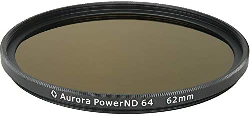 Aurora-Aperture PowerND ND64 62mm ND 1.8 Filter (6-Stop) [並行輸入品]