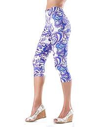 Lush Moda Extra Soft Capri Leggings - Variety of Prints