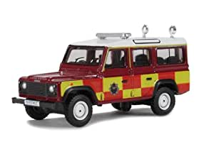 Oxford Diecast 76DEF006 Land Rover Station Wagon Gloucester Fire Service