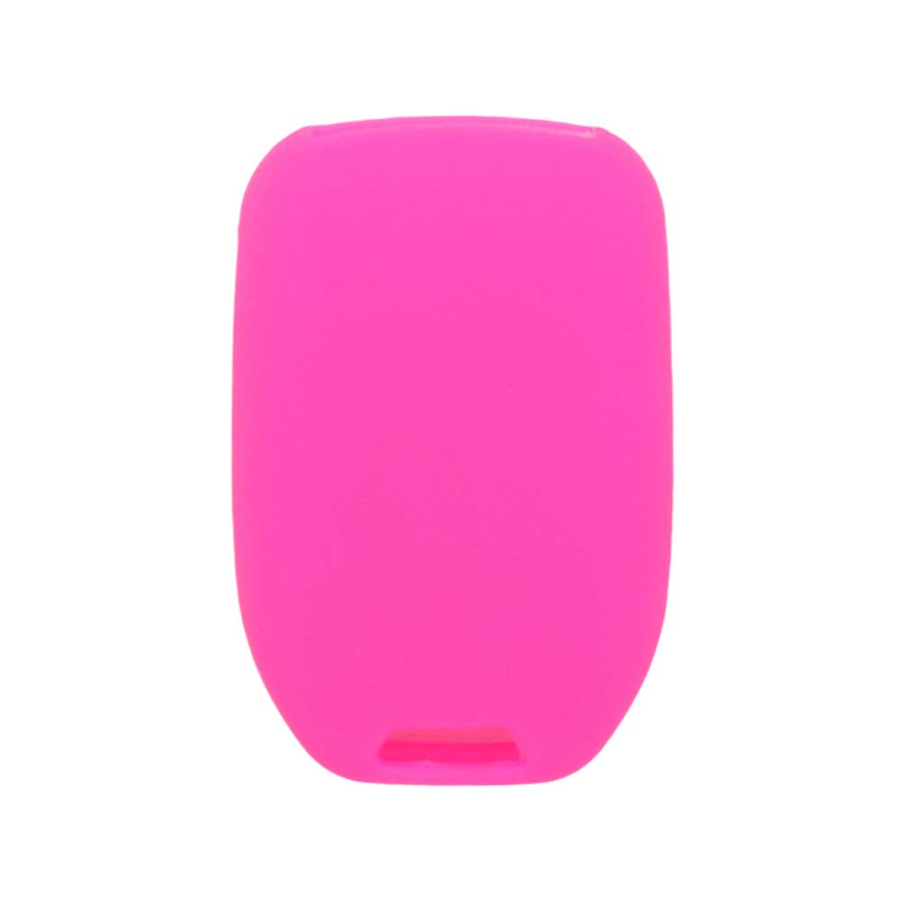 SEGADEN Silicone Cover Protector Case Skin Jacket fit for GMC CHEVROLET 6 Button Remote Key Fob CV4617 Deep Purple