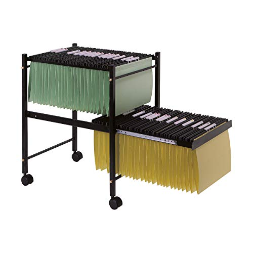 Suspension Filing Trolley - Q-Connect KF15266 Suspension File Trolley - Black
