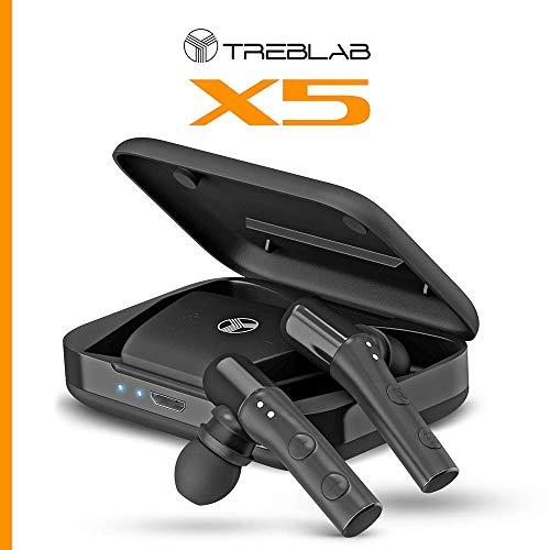 Amazon.com: TREBLAB X5 - Auriculares Bluetooth avanzados con ...