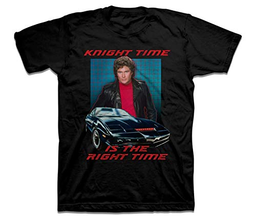 Men's Knight Time is the Right Time T-shirt S to XXL