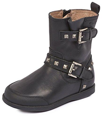 Garvalín 161404, Zapatillas Altas para Niñas Negro (Kaiser)